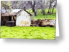 Rural Ruin Greeting Card
