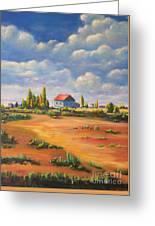 Rural Skies Greeting Card