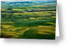 Rural Tapestry Greeting Card