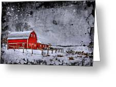 Rural Textures Greeting Card