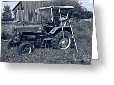 Rural Vehicle Greeting Card
