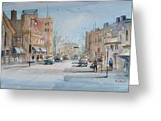 Rush Hour - Fond Du Lac Greeting Card