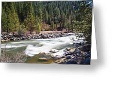 Rushing River Greeting Card
