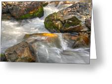 Rushing Water 1 Greeting Card