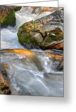 Rushing Water 2 Greeting Card