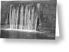 Rushing Waterfall Greeting Card