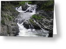 Rushing Waterfalls Greeting Card