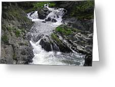 Rushing Waterfalls Greeting Card