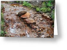 Rushing Waters 2 Greeting Card