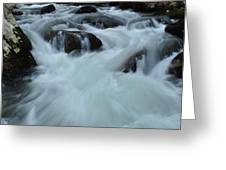Rushing Waters Greeting Card