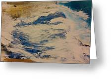 Rushing Waters Greeting Card by Gregory Dallum