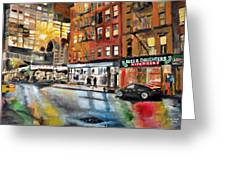Russ And Daughters Greeting Card