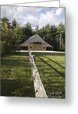 Russell-colbath Historic Homestead - White Mountains Nh Greeting Card