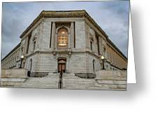 Russell Senate Office Building Greeting Card