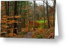 Russet Days Greeting Card