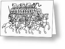 Russia: Royal Guard Greeting Card