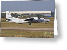 Russian Air Force An-26 Taking Greeting Card