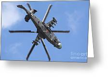 Russian Air Force Ka-52 Helicopter Greeting Card