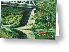 Russian River Greeting Card