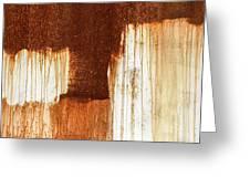 Rust 02 Greeting Card