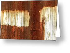 Rust 06 Greeting Card