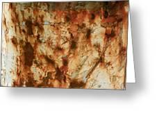 Rust 18 Greeting Card