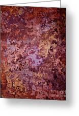Rust Autumn Greeting Card