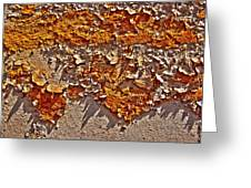 Rust On A Pipe Greeting Card
