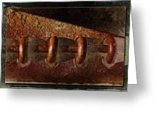 Rust Rings Greeting Card