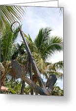 Rusted Anchor Greeting Card