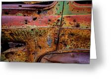 Rusted Beauty Greeting Card