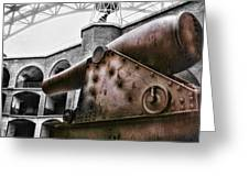 Rusted Cannon Greeting Card