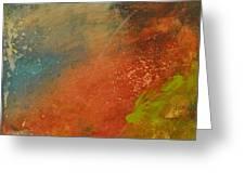 Rusted Nova Greeting Card