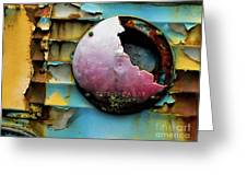 Rusted Series 3 Greeting Card