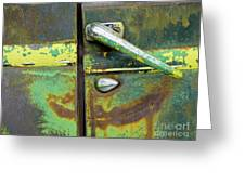 Rusted Series 4 Greeting Card