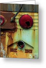 Rusted Series 5 Greeting Card