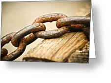 Rusted Strength Greeting Card