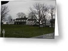 Rustic Amish Farmstead Greeting Card