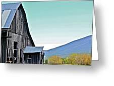 Rustic Barn Greeting Card