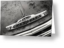 Rustic Chevrolet Greeting Card