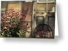 Rustic Corner Greeting Card