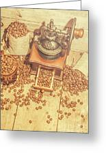 Rustic Country Coffee House Still Greeting Card