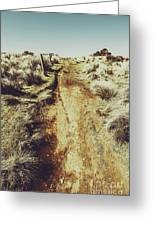 Rustic Country Trails Greeting Card