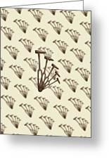 Rustic Hammer Pattern Greeting Card