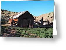 Rustic In Colorado Greeting Card