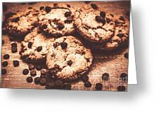 Rustic Kitchen Cookie Art Greeting Card