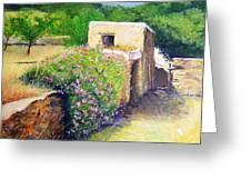 Rustic Landscape  Greeting Card