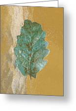 Rustic Leaf Greeting Card
