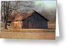 Rustic Midwest Barn Greeting Card