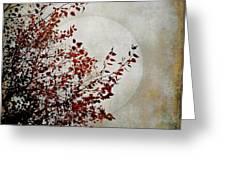 Rustic Moon Greeting Card